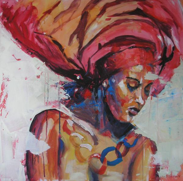 Black Is Beautiful by Dawn Ogden-white