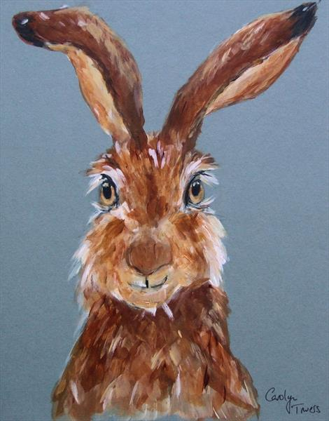 Cheeky Hare by Carolyn Towers