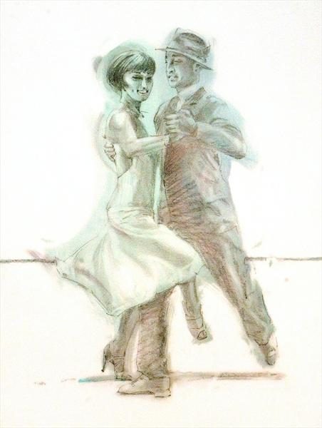 Midnight Tango (Study 4) by Charles Willmott