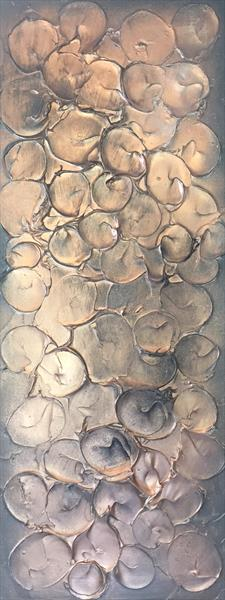 'Bubbles - Copper/Rose Gold' by Kerry Bowler