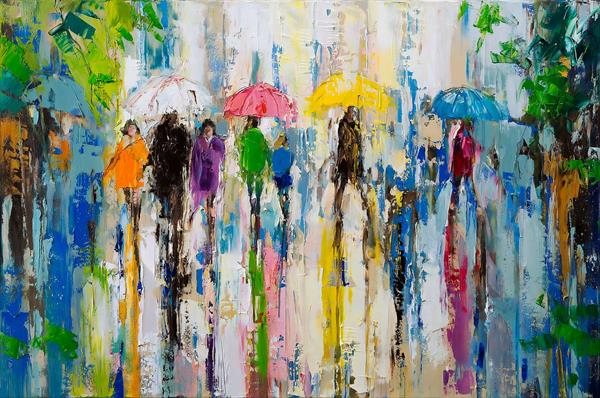 'April Showers'  by Eva Czarniecka