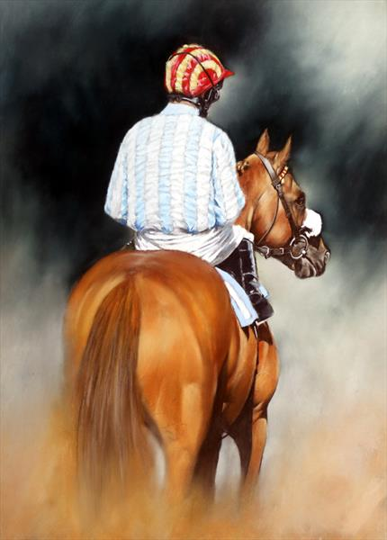 Before The Race by Brian Halton