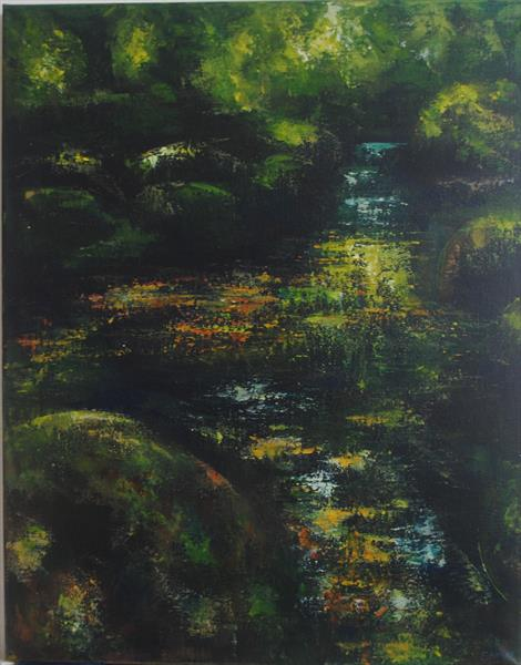 Green Reflections  by Stephanie Wheeler