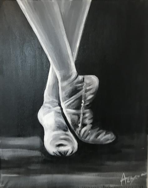 Ballet Shoes by Abby  Browne