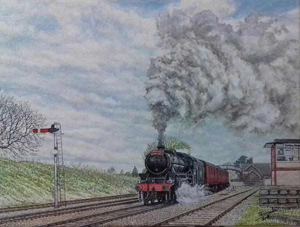 'The Fylde Coast Express'  by Carlos De Vasconcelos