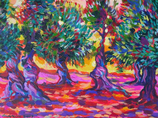 Orchards of Puglia II by Maja Grecic