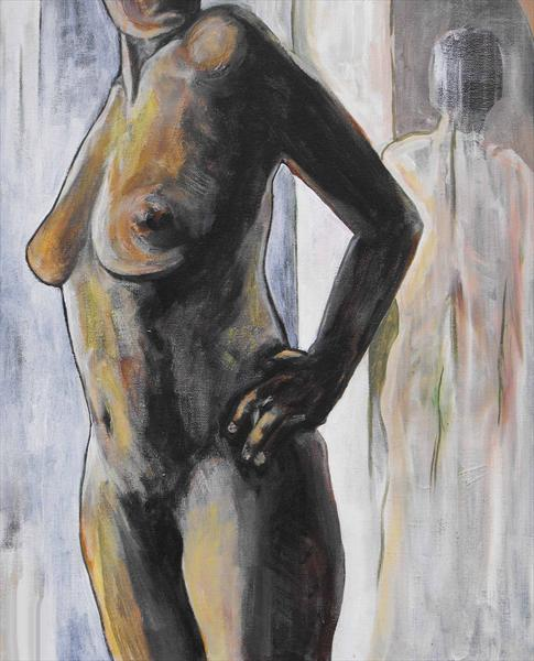 Standing Nude by Henri Cabot