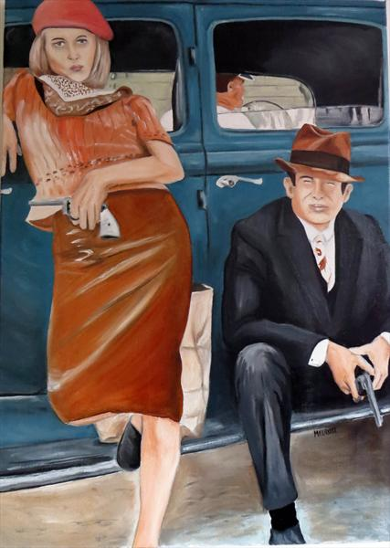 Bonnie & Clyde by David Melrose
