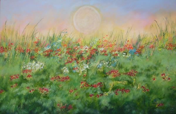 In a meadow by Jill Lloyd