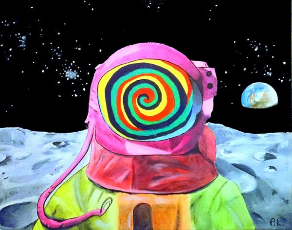 Psychedelic Astronaut by Patrick Lee