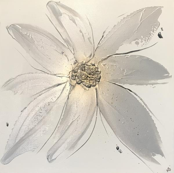 Silver Floral  by Kerry Bowler