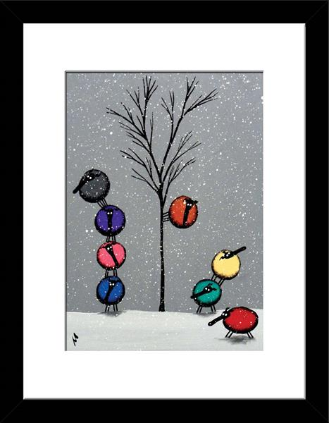 Winter Fiesta (Ready Framed)