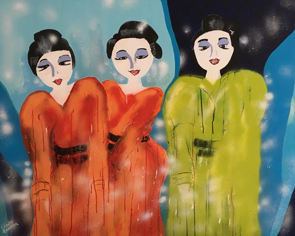 Geishas by Nineke Havinga