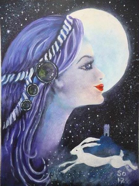 The Moon Watcher  by Super Cosmic