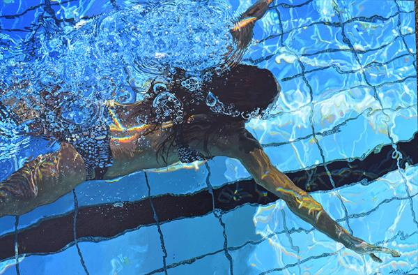 The Swimmer by Abi Whitlock