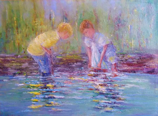 Boys  and their Boat by Therese O'Keeffe