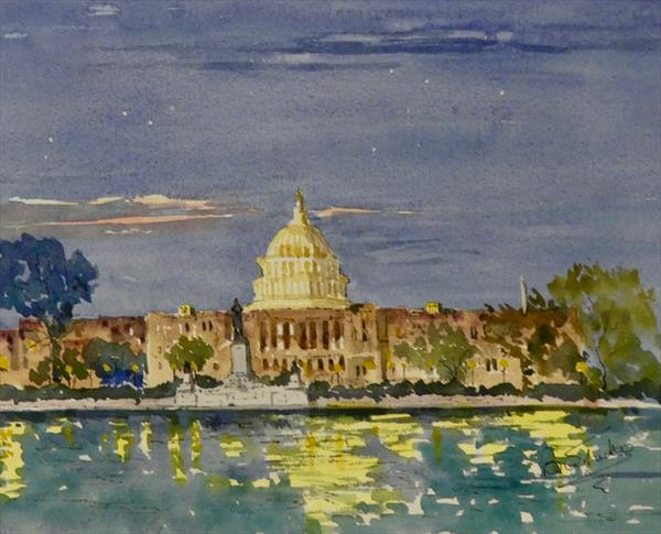 The Capitol in Washington DC by Brian Tucker