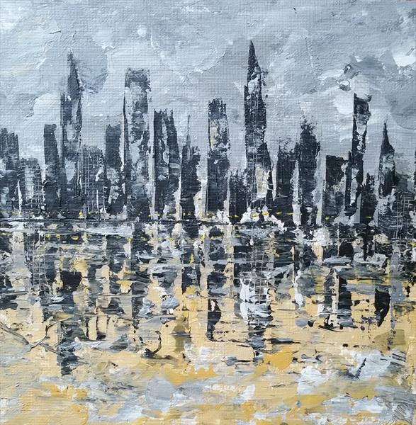 City By The Waterfront by Lucy Moore