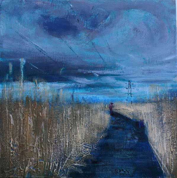 Walkway in the Reeds by Susan Clare