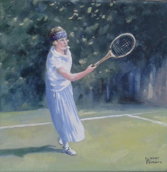 The Forehand by Wendy Warwick