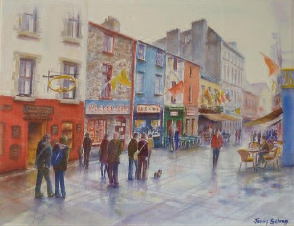 After the rain - Galway by Jenny Schrag