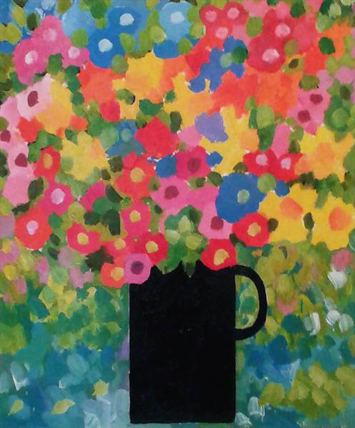 Spring Flowers by Jan Rippingham