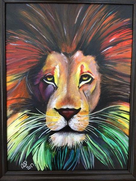 King of Colour by Alison Hemming
