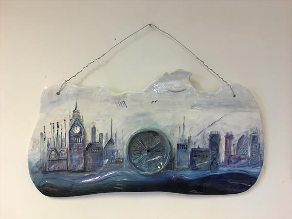 London Landscape Ceramic by Julie Anne