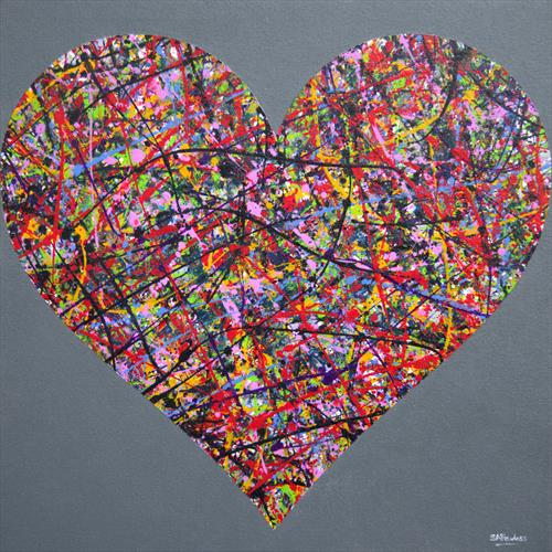 Abstract Heart by Simon Fairless
