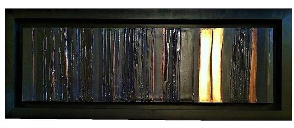 Bronzed Charcoal by Lisa Vallo