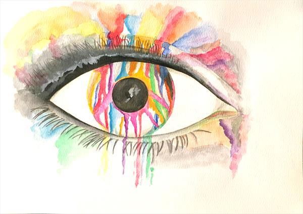 Eye Love Rainbows by Julie Anne