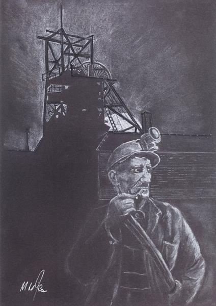 Welsh Miner 2 by Mike Isaac