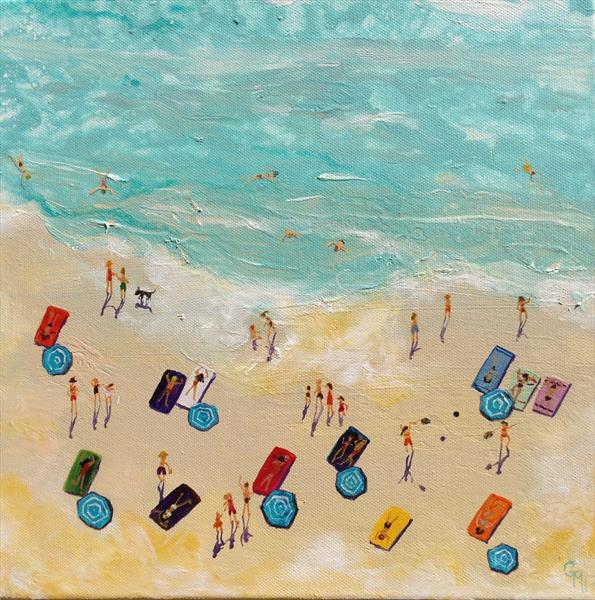 I do like to be beside the seaside by Gill Masters
