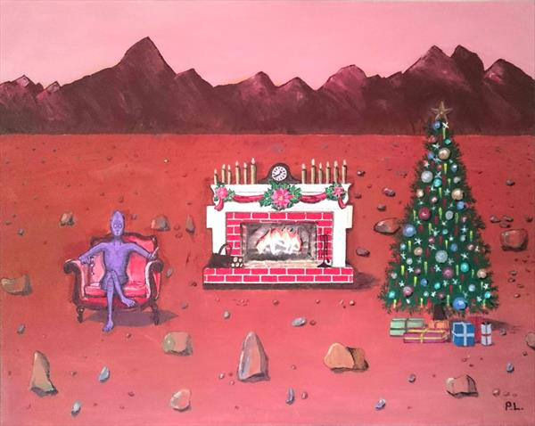 Red Christmas by Patrick Lee