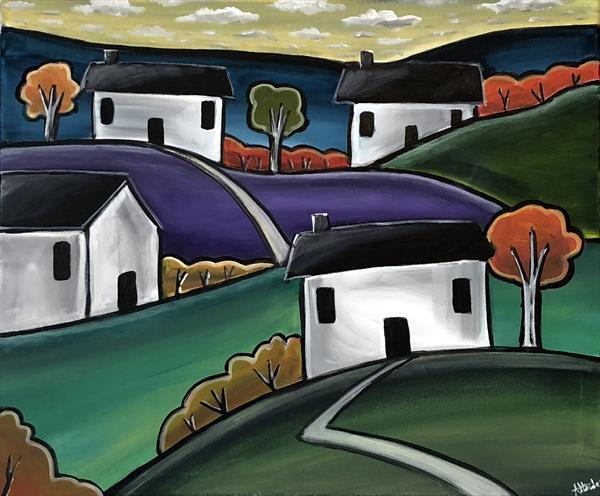 Four Cottages by Aisha Haider