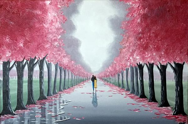 Romantic Blossom Tree Walk