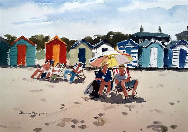 Sunny Southwold by Ken  Hayes