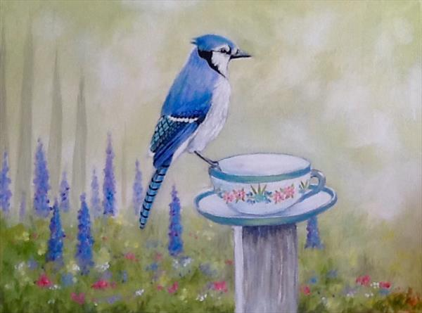Early Morning Cuppa by Pamela Usher