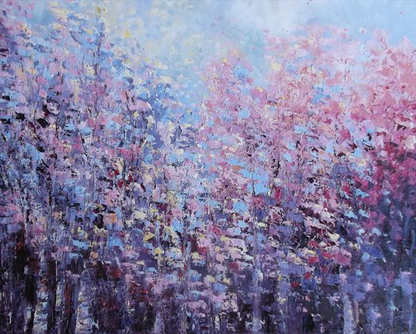 Summer Colour in the Trees by Therese O'Keeffe