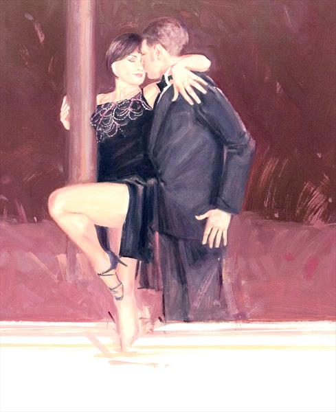 Midnight Tango (Oil Study 6) by Charles Willmott