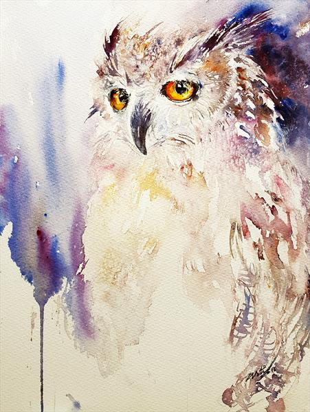Layla the Owl by Arti Chauhan