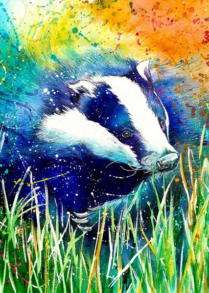 Bagwell Badger by Sally Goodden