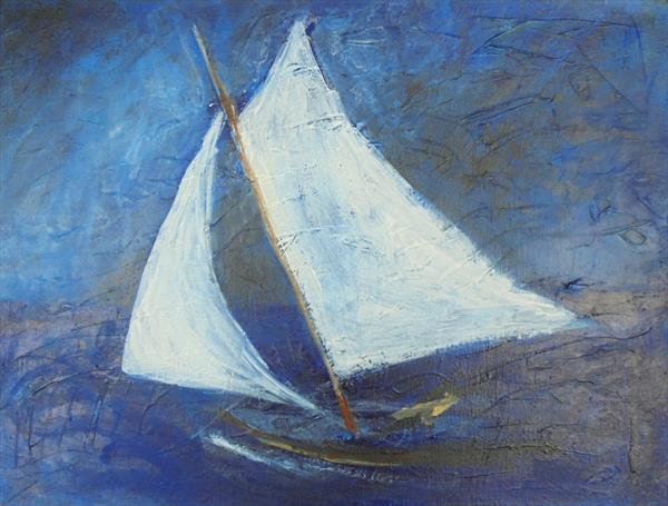 ROUGH SEA SAILING by John Davies
