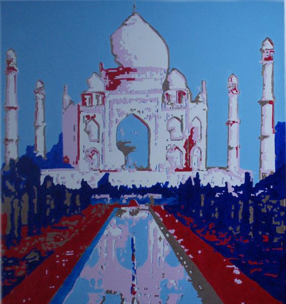 Taj Mahal by John Wallace