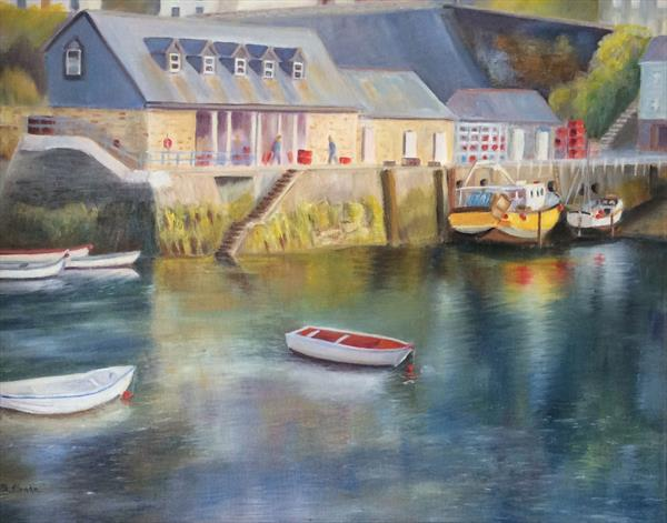 Mavagissey Harbour by Beatrice Cloake