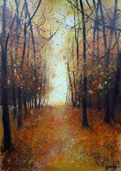 Impression of Autumn by Teresa Tanner