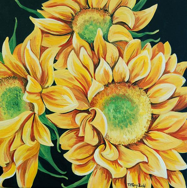Sunflower Bouquet by Tiffany Budd