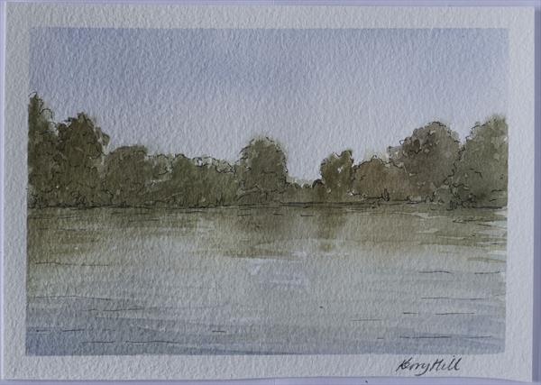 Early autumn by Bolam Lake