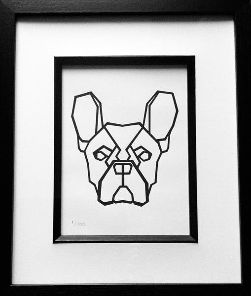 French Bulldog by sharon coles