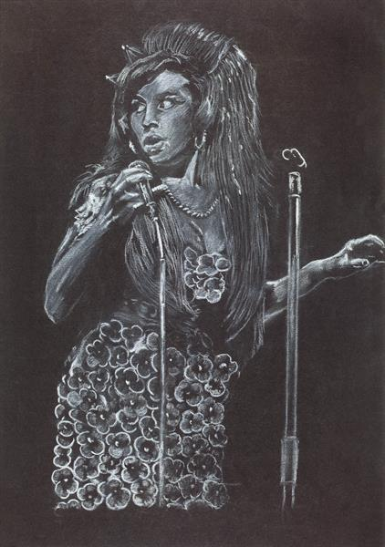 Amy Winehouse/ Music/ Pop Art by Mike Isaac
